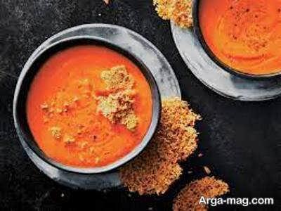 طرز پخت سوپ گوجه فرنگی خوش طعم