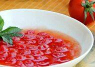 آشنایی با طرز مربا گوجه فرنگی