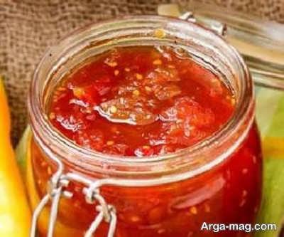 طرز تهیه مربا گوجه فرنگی یک مربای خوشمزه و متفاوت