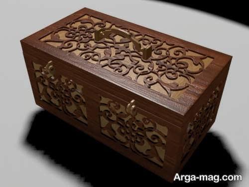 جعبه چوبی مخصوص جواهرات
