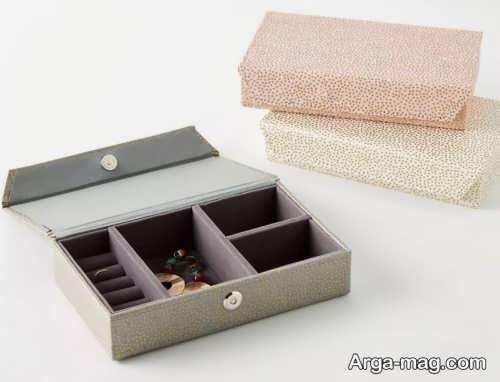 مدل زیبا و شیک جعبه جواهرات