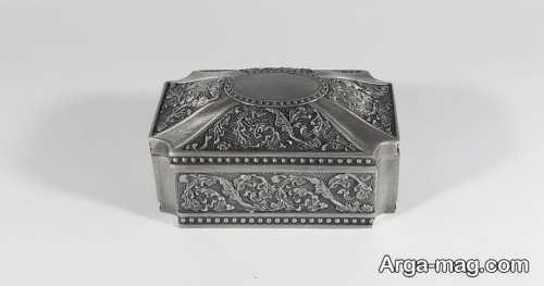 جعبه جواهرات فلزی
