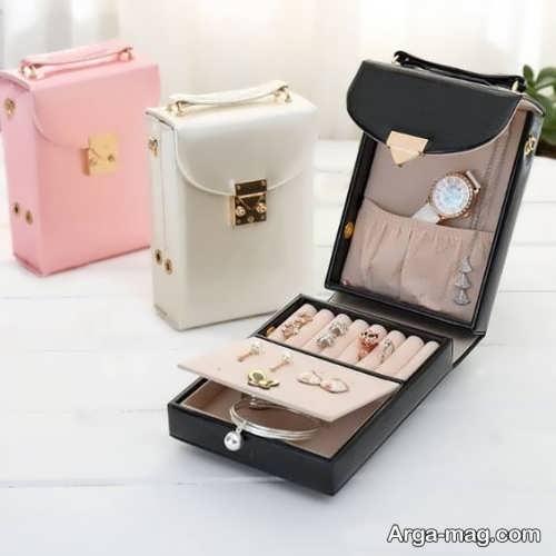 جعبه جواهرات ساده و کوچک