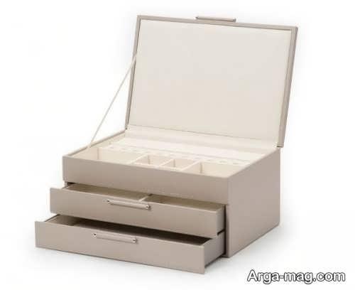 جعبه جواهرات ساده و زیبا