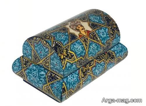 جعبه طرح دار مخصوص جواهرات