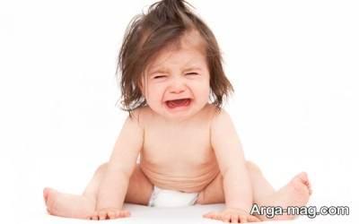 دلایل گریه کردن نوزاد