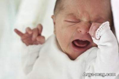 گریه کردن طولانی نوزاد