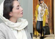 مدل مانتوهای هدیه تهرانی