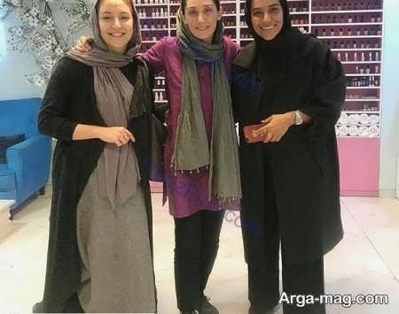 طرح مانتوی کوتاه هدیه تهرانی
