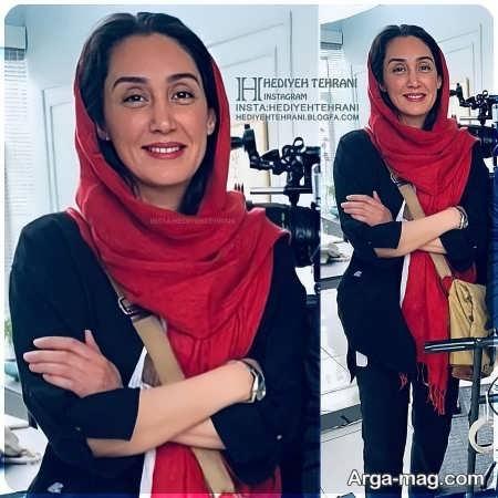 مانتوی کوتاه هدیه تهرانی