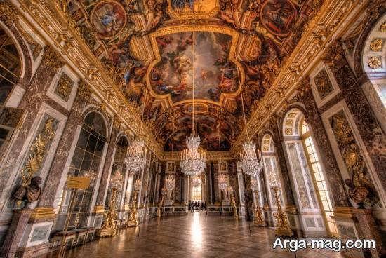 قصر ورسای واقع در شهر زیبای پاریس