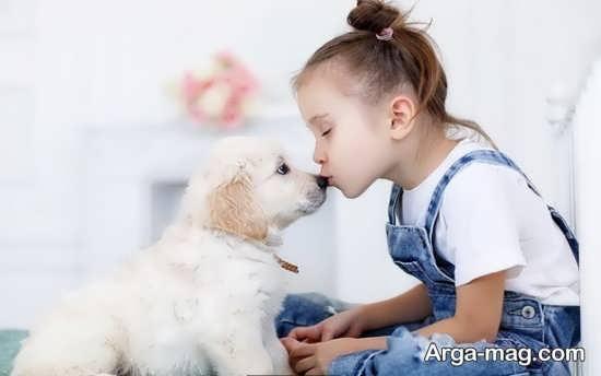 انواع حیوان خانگی مناسب برای کودکان