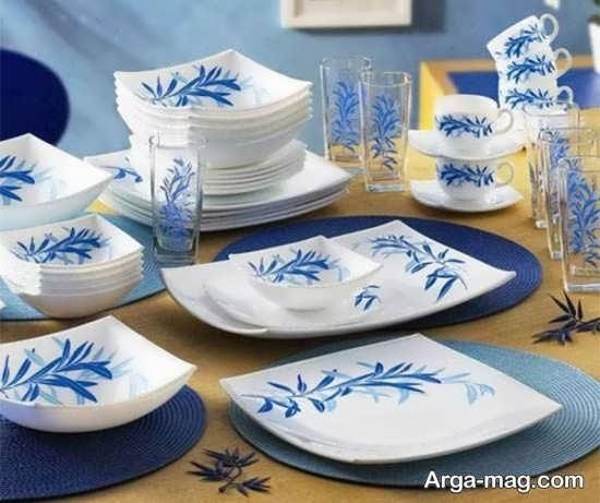 شیوه تمیز و درخشان کردن ظروف چینی