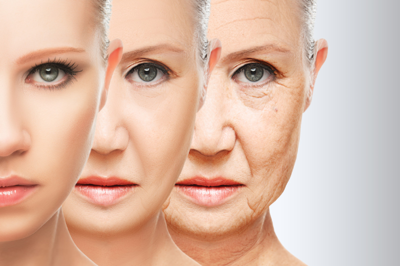 جلوگیری از شل شدن پوست صورت