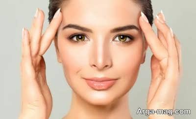 از بین بردن شل شدگی پوست صورت