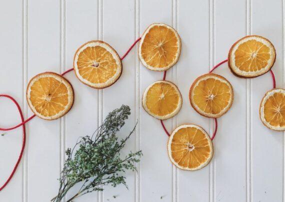 بررسی خواص پرتقال خشک