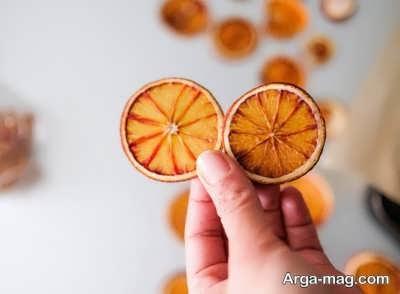 برخی خاصیت های پرتقال خشک
