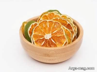 بررسی خاصیت های پرتقال خشک