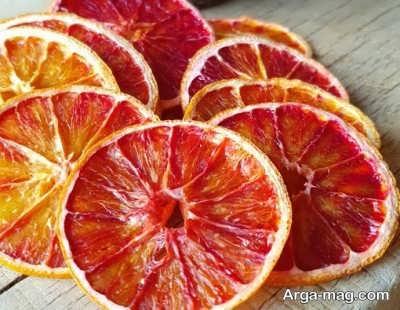 خواص مختلف پرتقال خشک