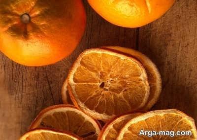 خاصیت هایی برای پرتقال خشک