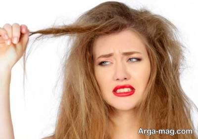درمان خشک شدن مو ها
