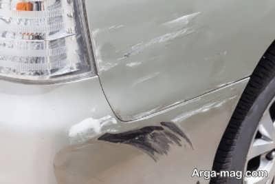 ترمیم خط افتادگی روی اتومبیل