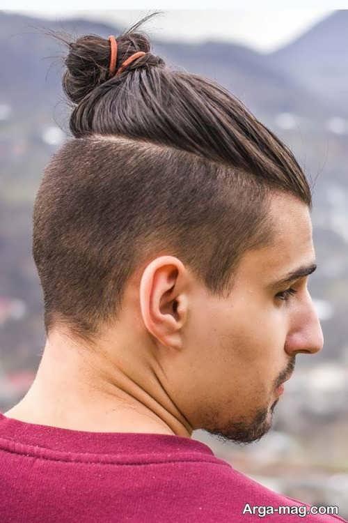 مدل مو مردانه سامورایی