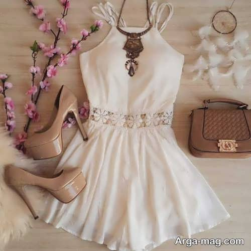 ست لباس زیبا دخترانه مجلسی