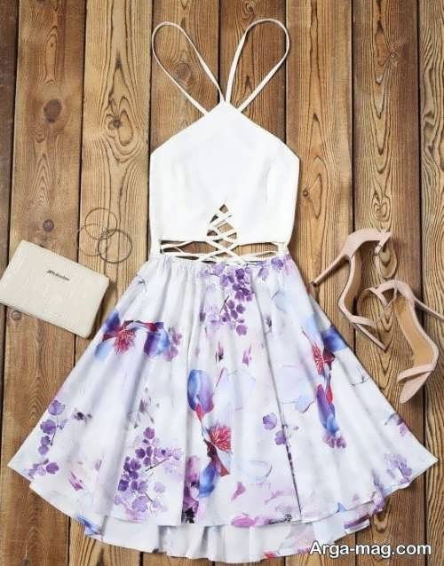 ست لباس زیبا دخترانه