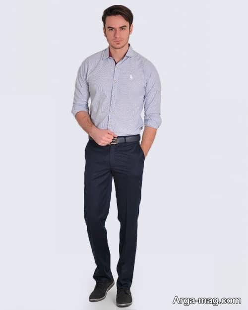 پیراهن و شلوار رسمی مردانه