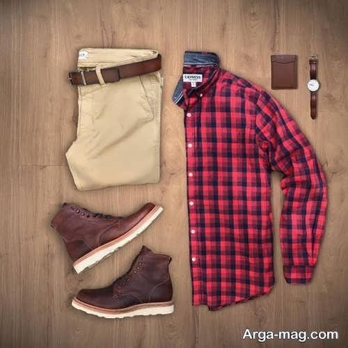 ست پیراهن و شلوار مردانه شیک و زیبا