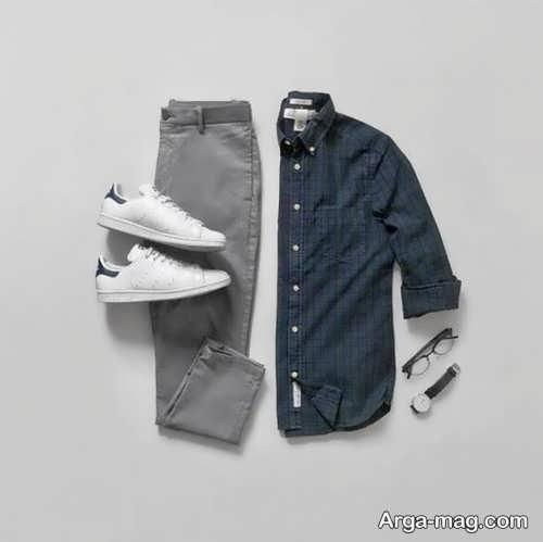 ست اسپرت پیراهن و شلوار مردانه