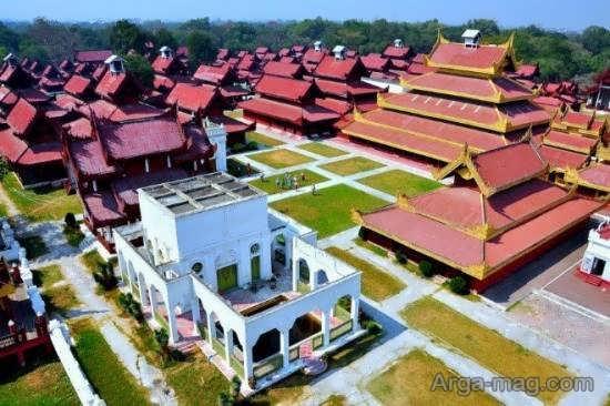 مکان های دیدنی و توریستی میانمار