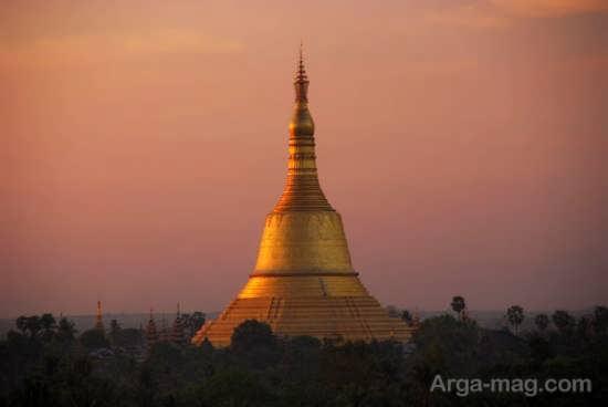 جاذبه های دیدنی و تماشایی میانمار