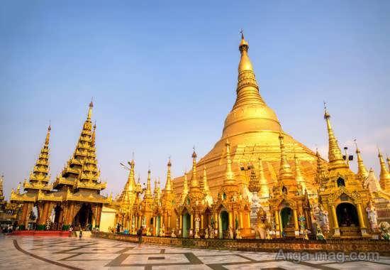 آشنایی با مکان های دیدنی میانمار
