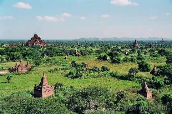 معرفی جاذبه های دیدنی میانمار
