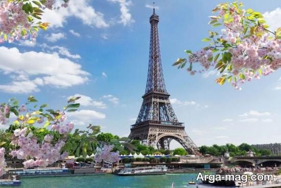 عکس فصل بهار در پاریس