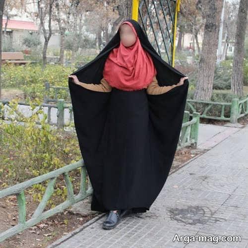 استایل ساده برای خانم های چادری