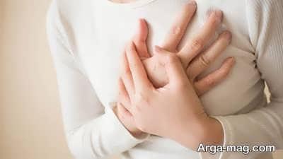 دلیل درد سینه