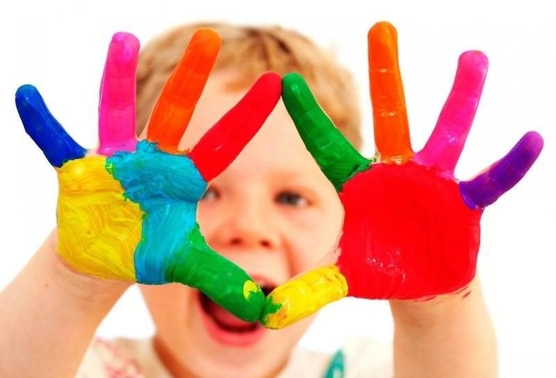 تاثیر رنگ ها بر خلاقیت کودکان