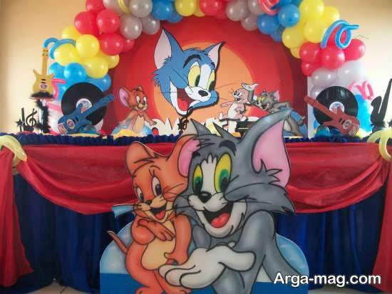 تم زادروز تام و جری گربه و موش شخصیتی