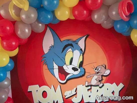 گالری زیبایی از تم تولد تام و جری