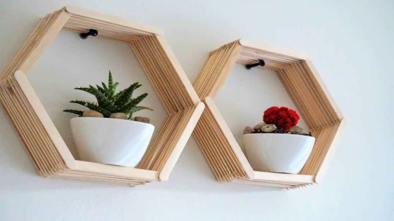ایده هایی زیبا و کاربردی از شلف دیواری برای گلدان