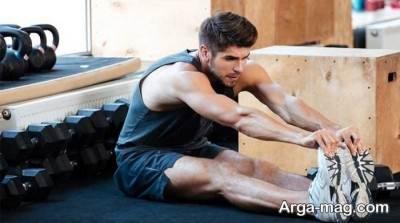 گرم کردن بدن قبل از ورزش