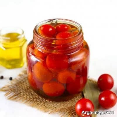 روش تهیه ترشی گوجه گیلاسی در منزل