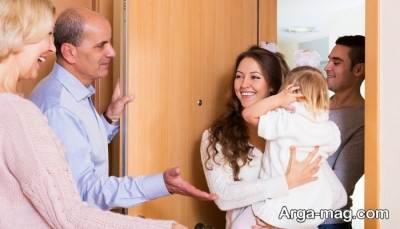 تحکیم رابطه با خانواده همسر