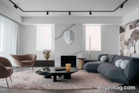 دیزاین داخلی منزل با روشی جالب