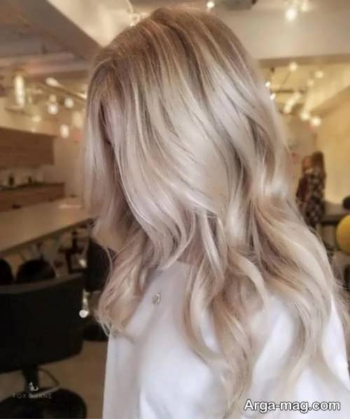 رنگ موی کاهی زنانه