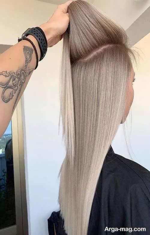 رنگ مو کاهی روشن