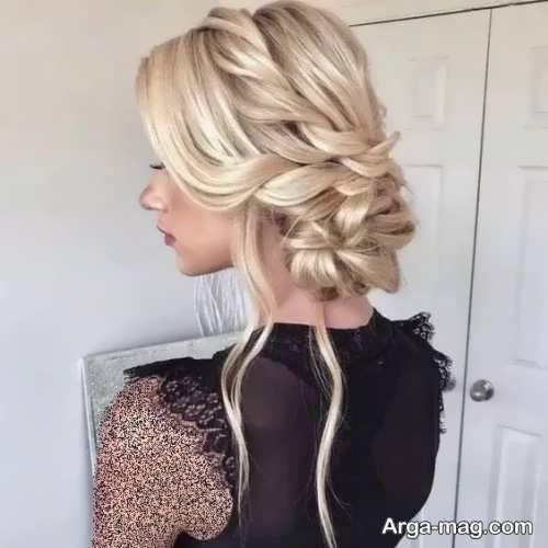 رنگ مو زیبا کاهی